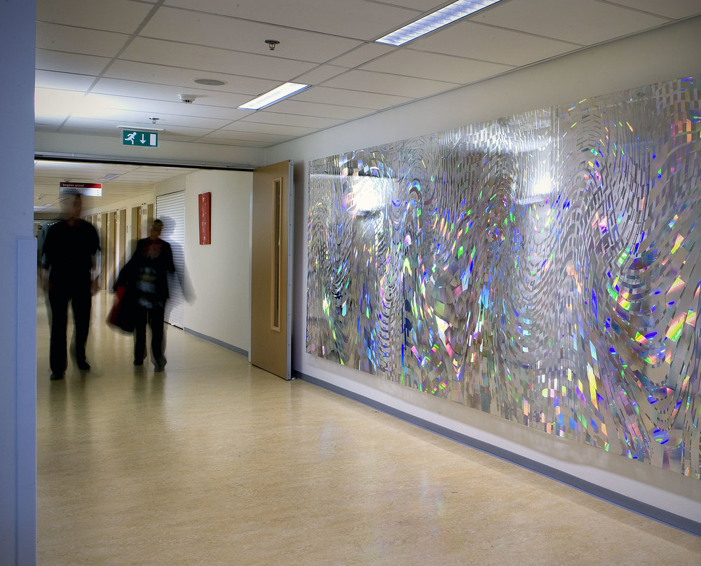 Energy, holographic installation