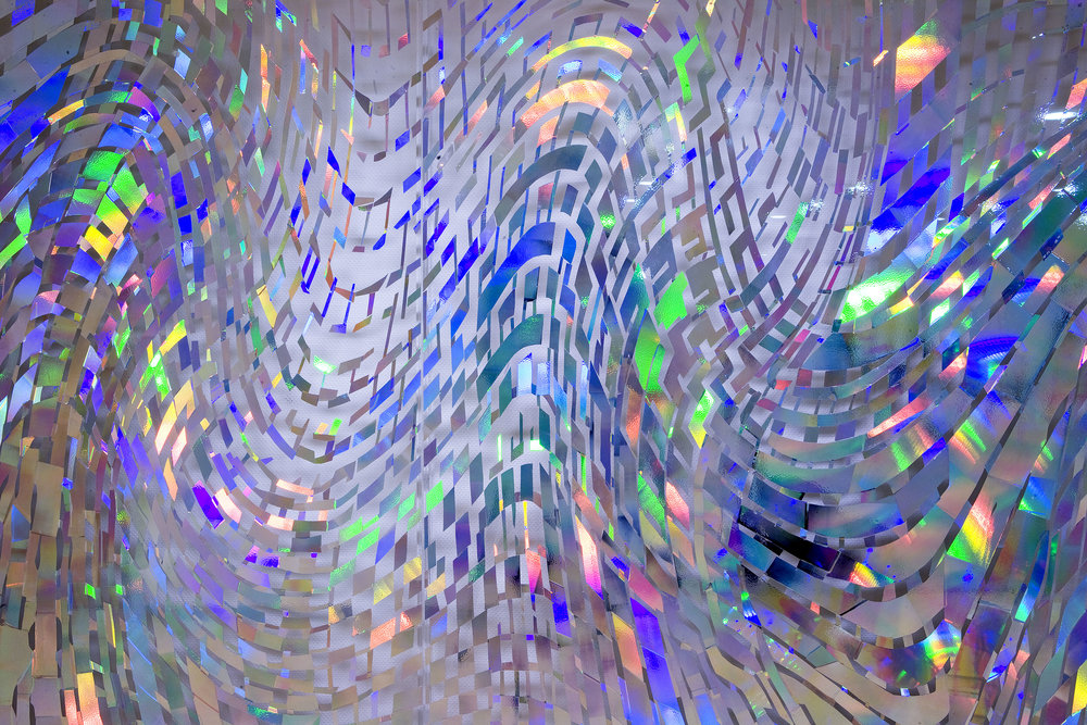 Energy, holographic installation, detail