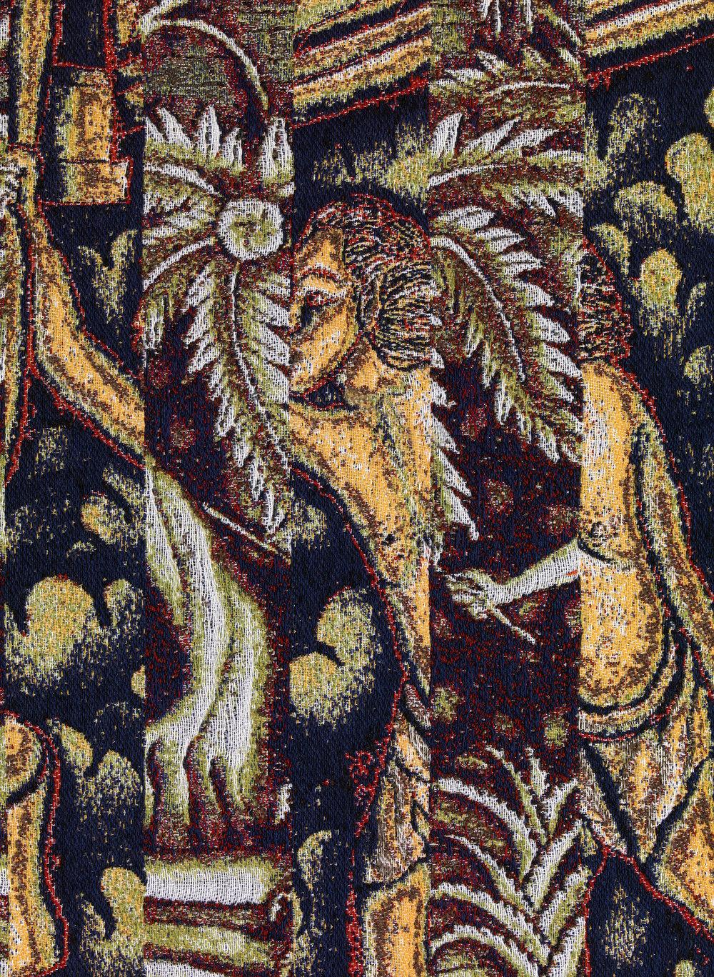 Batuan 2, jacquard woven, detail