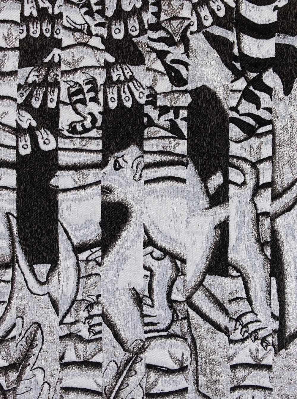 Sanur, jacquard woven, detail