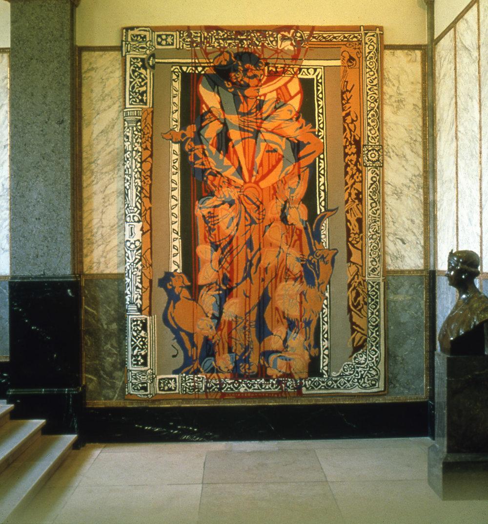 Mercurius, handtufted carpet, 380 x 270 cm