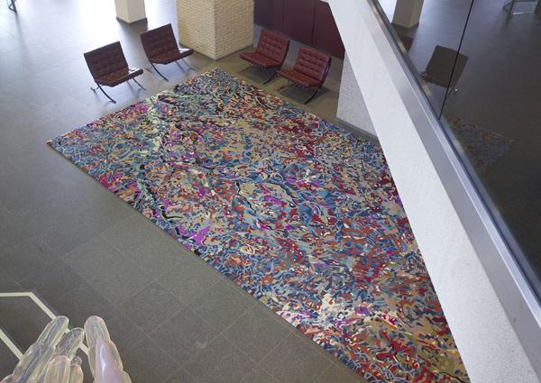 Carpet voor DSM, handtufted wool, 750 x 400 cm