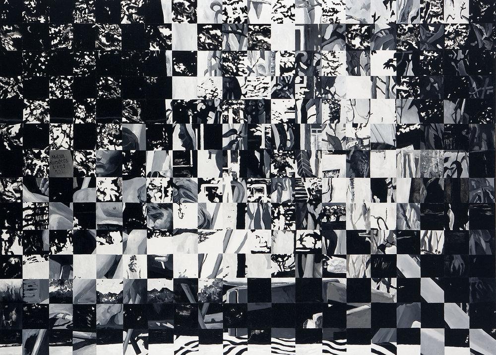 My Family (Nwe Herengracht), acryl on canvas, 180 x 250 cm