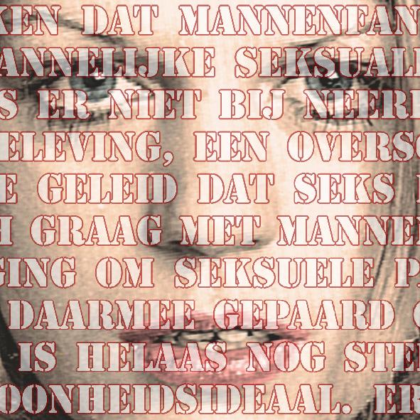 Open Mouths, no. 5 (Barbara), 100 x 100 cm