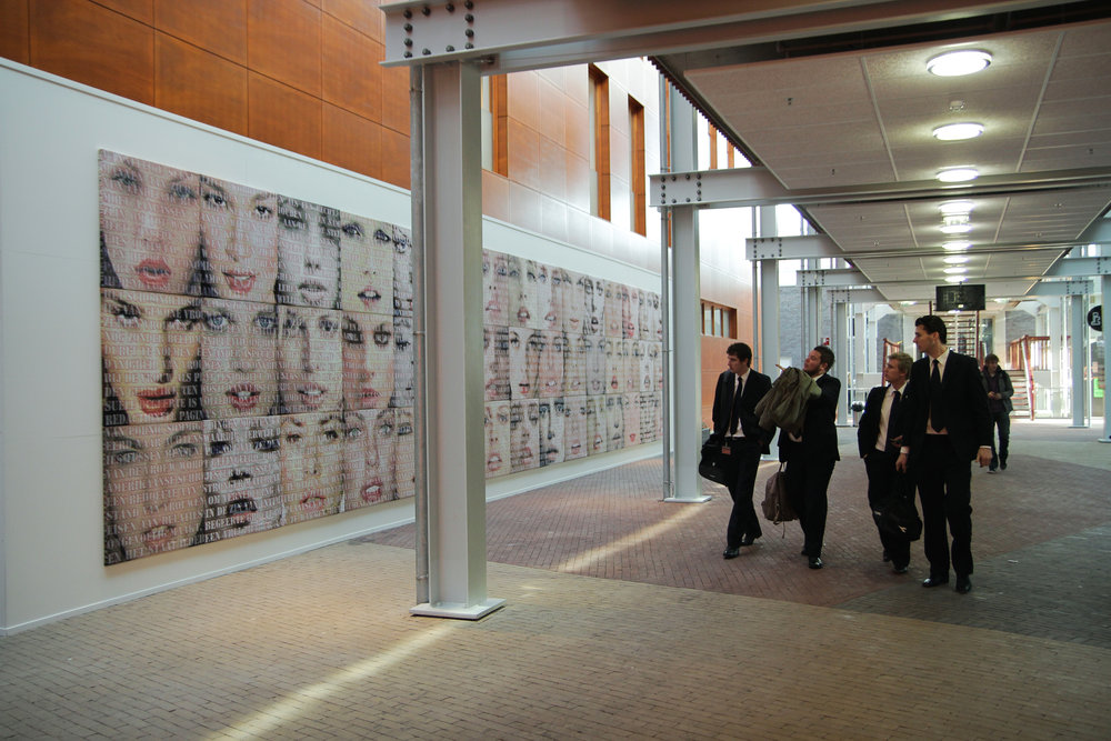 Open Mouths, the Fundatie, 2012