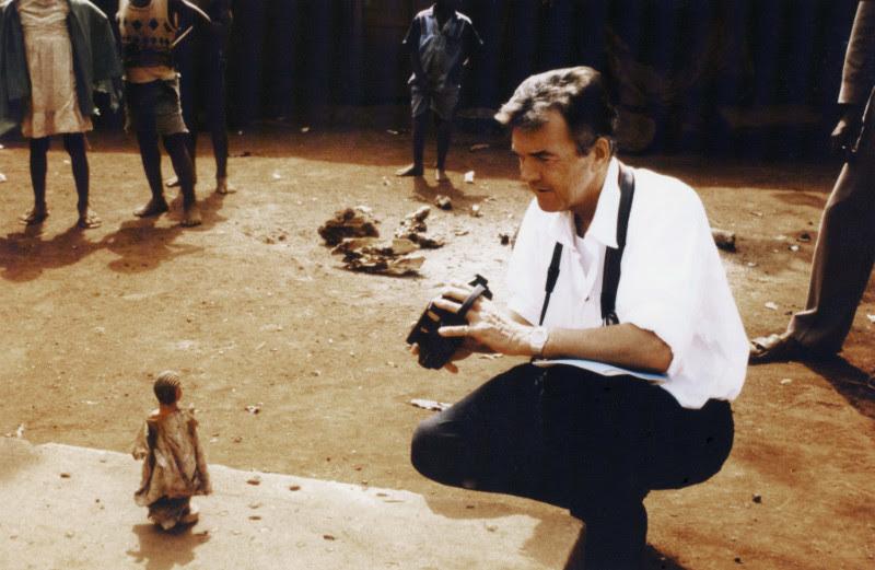.... Jean Paul Barbier-Mueller in Ivory Coast ..  Jean Paul Barbier-Mueller en Côte d'Ivoire ....