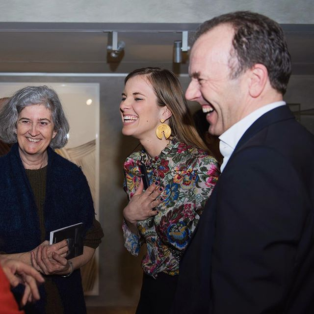 "#TBT Opening of the exhibition ""Faraway Arts, So Close in Silvia Bächli's Eyes"" at the @museebarbiermueller 🎨"