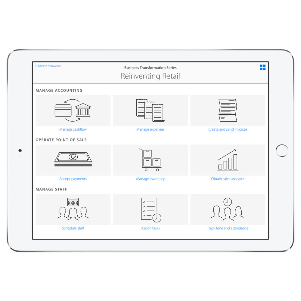 Showcase, Business Transformation Series- Reinventing Retail Episode (grid view)