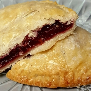 Debbie Sue's Crescent Moon Cherry Hand Pie