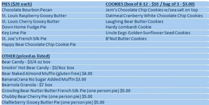 OUR NEW RETAIL PRICE LIST (08/12/2017)
