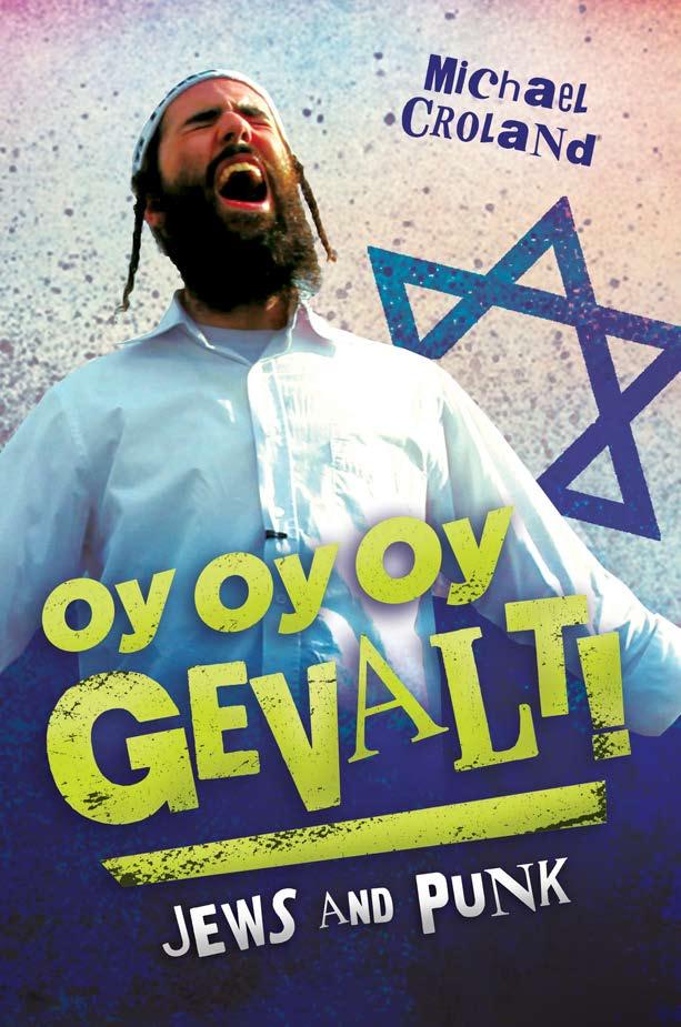 Yishai Romanoff on the cover of   Oy Oy Oy Gevalt! Jews and Punk