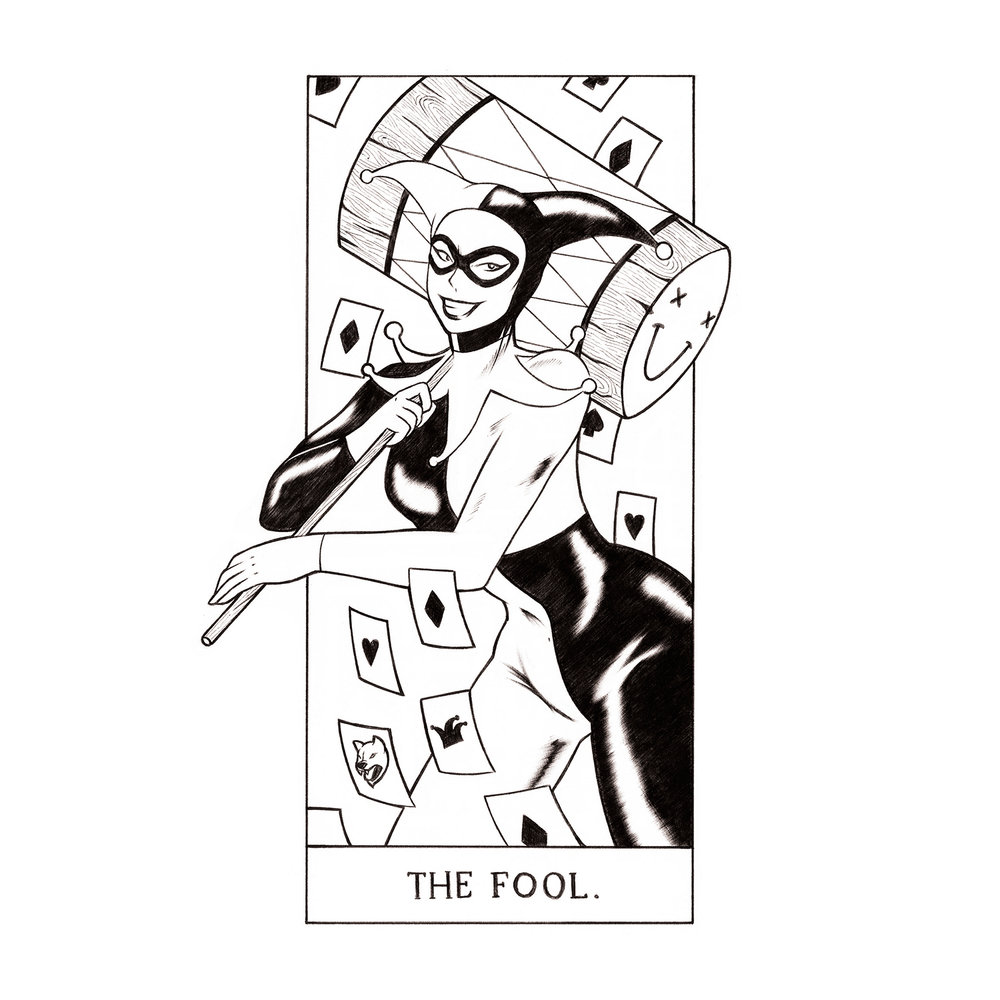 (0) The Fool: Harley Quinn