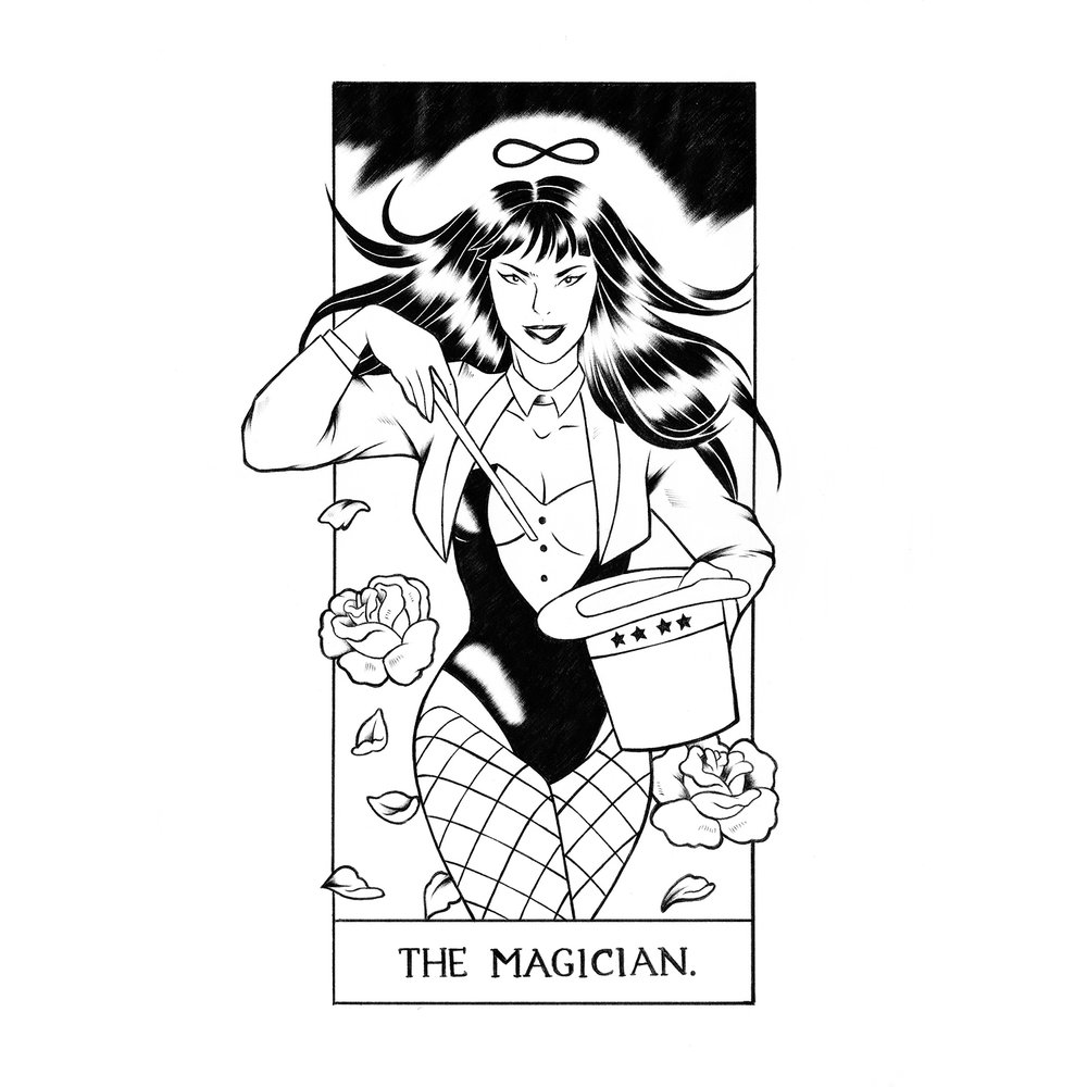 (1) The Magician: Zatanna