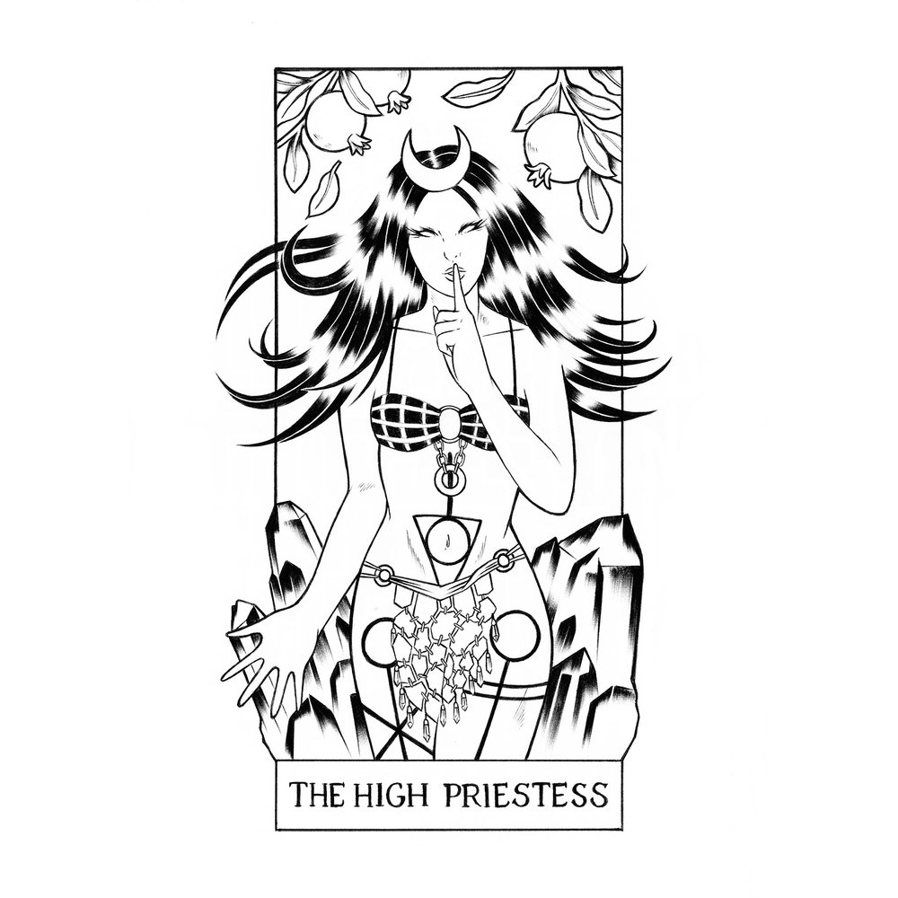 (2) The High Priestess: Enchantress