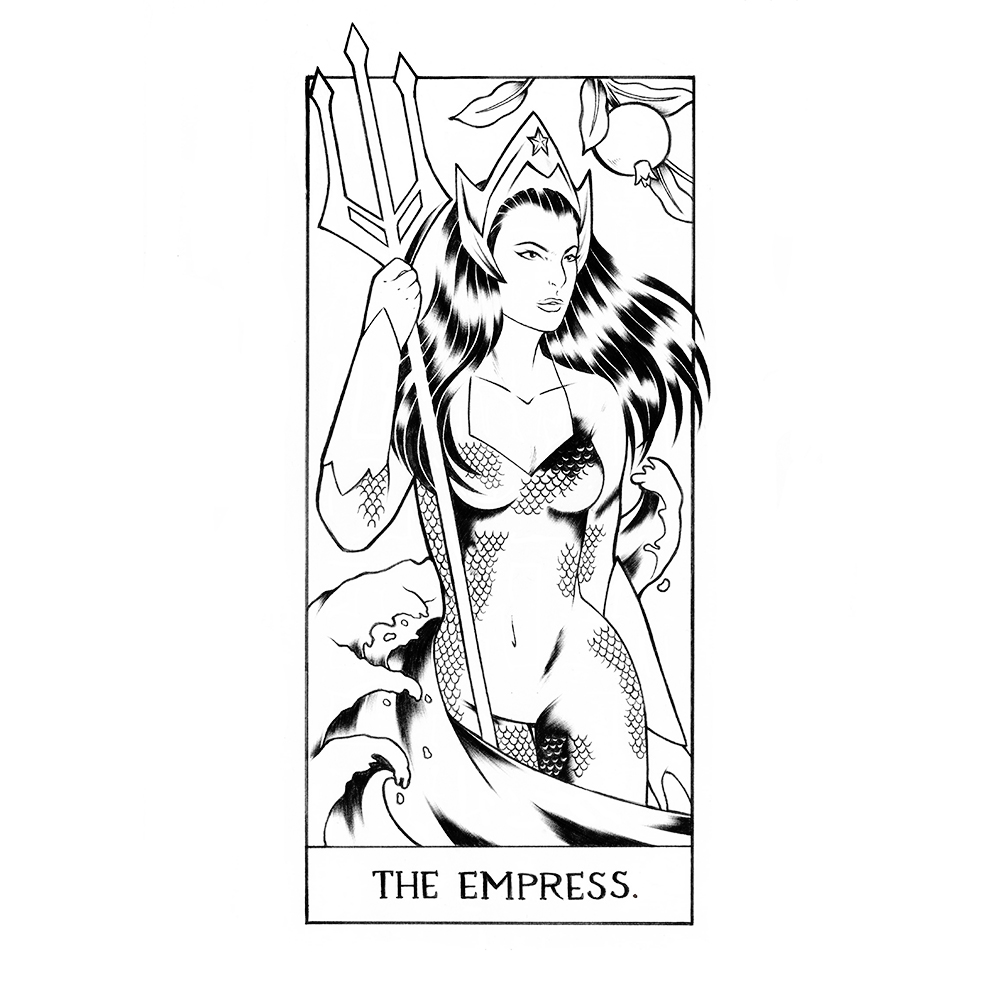 (3) The Empress: Mera
