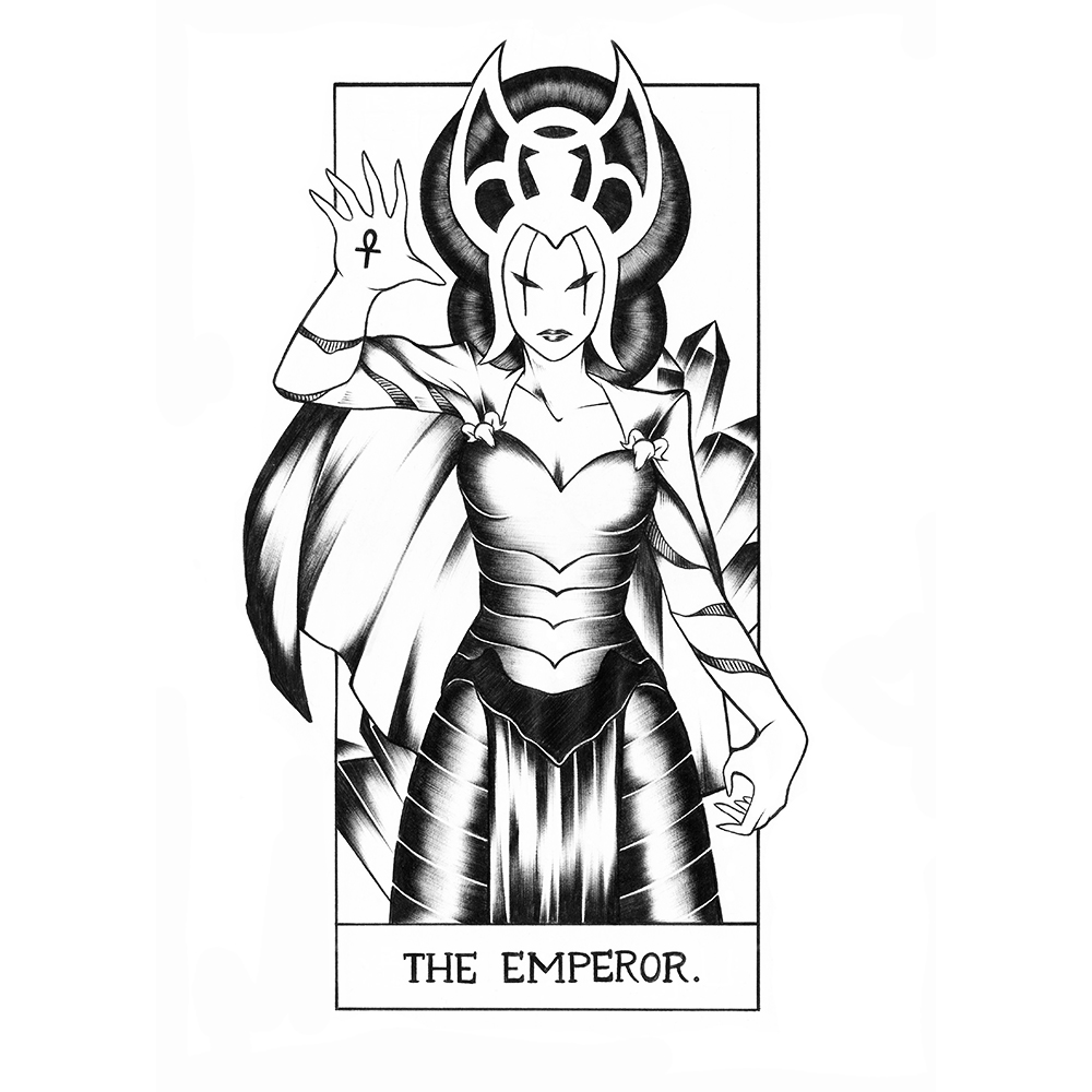 (4) The Emperor: Morgaine le Fey