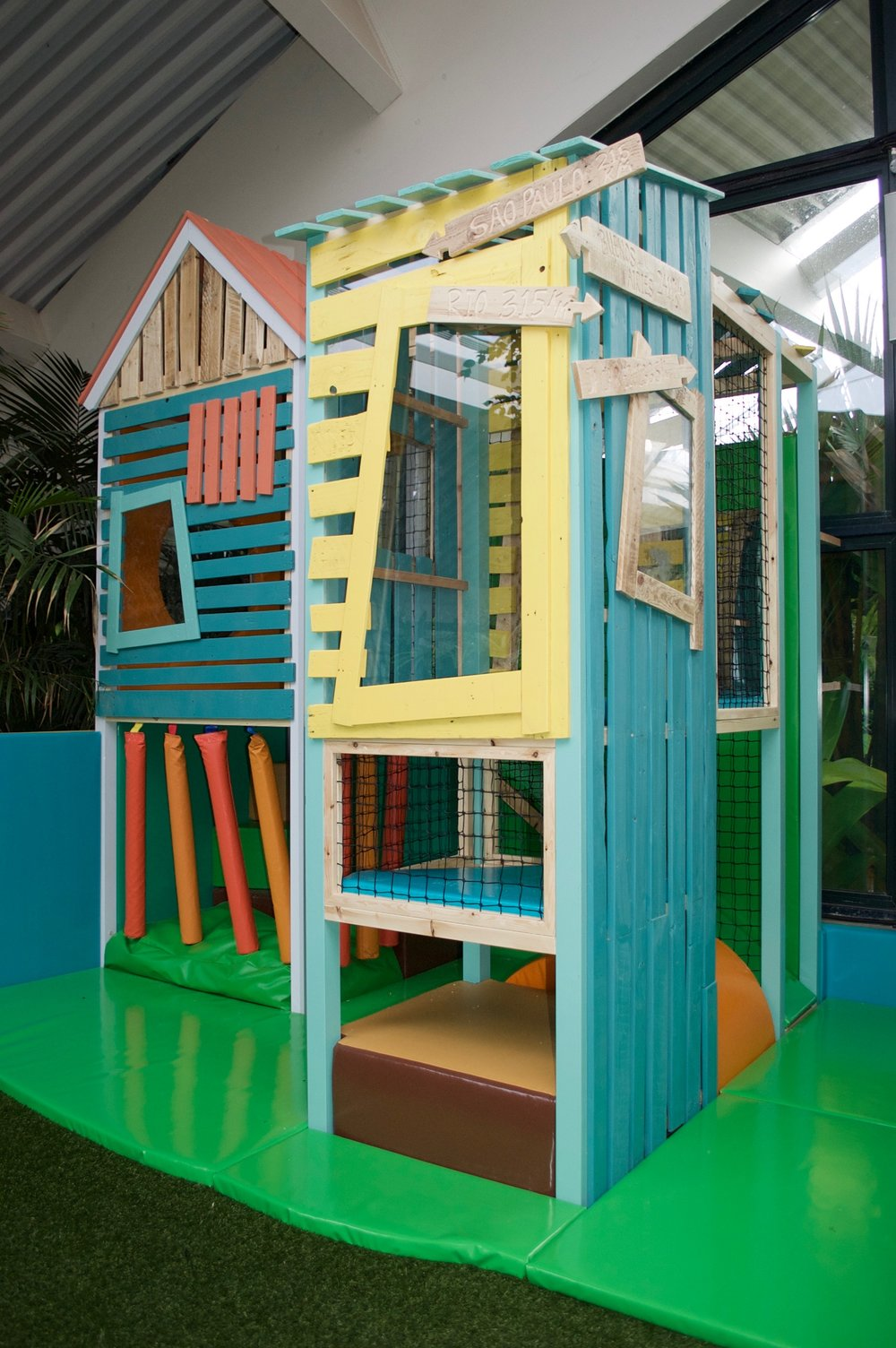 Tigerplay softplay center parcs las iguanas