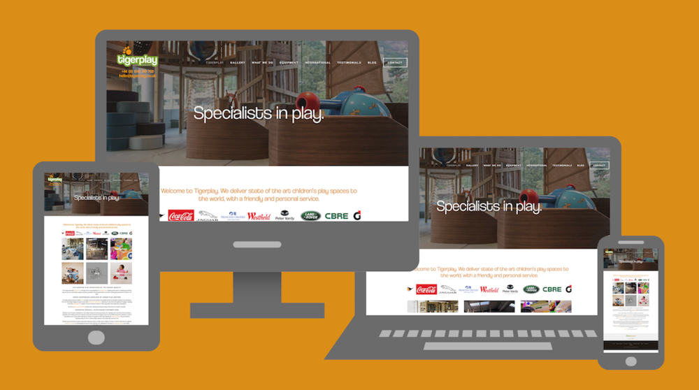 Our fully responsive site works across all devices.