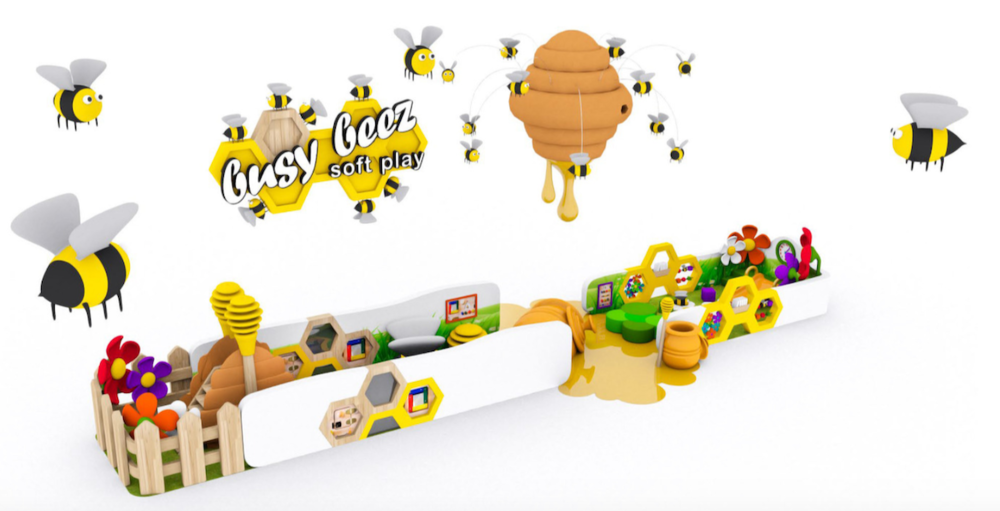 The 'Busy Beez' concept design.