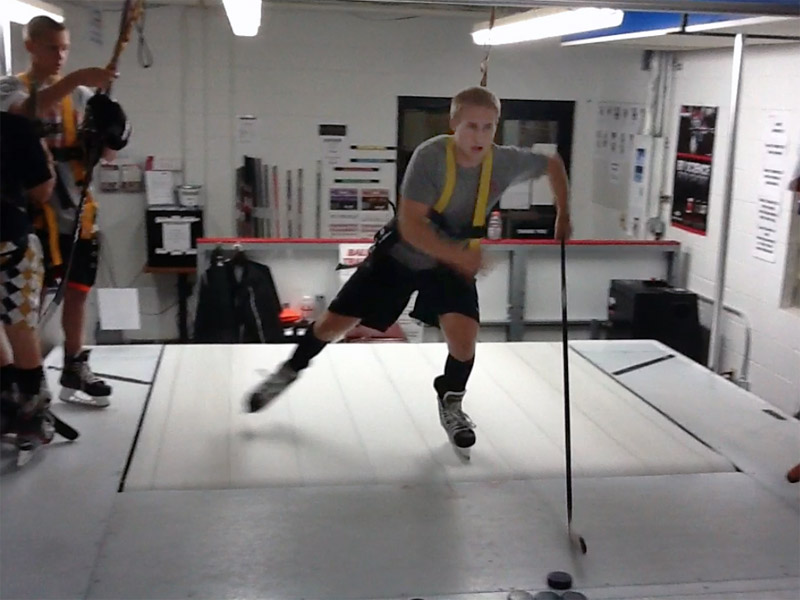 Treadmill Training - Peak skating performance training