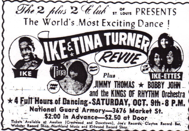 Ike and Tina Turner Revue at the Armory in 1965.(  www.stlmusicyesterdays.com  )