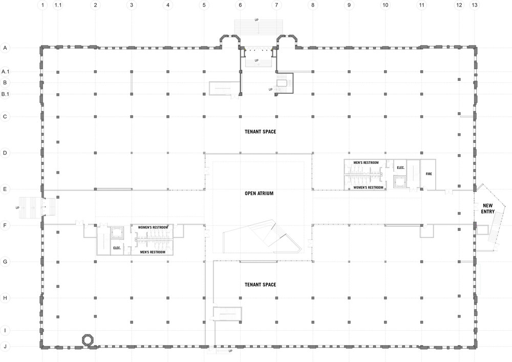 Total Gross SQ FT 83,257 // Total Tenant SQ FT 60,557