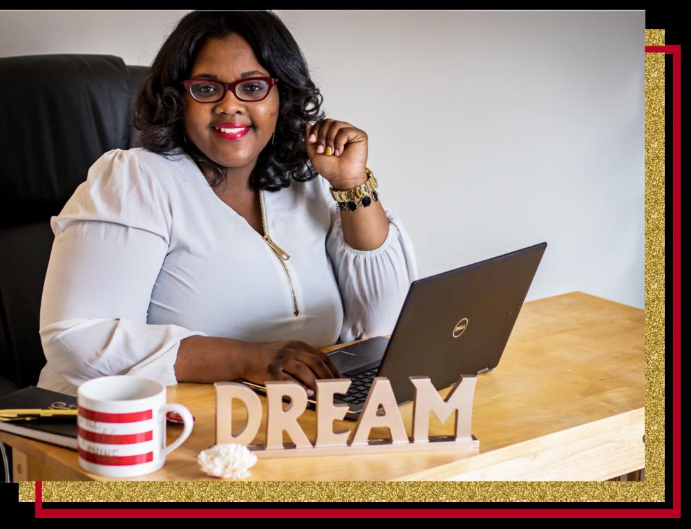 Kierra Jones Visibility Empowerment Coach & Shine Strategist aka The Shine Empowerer