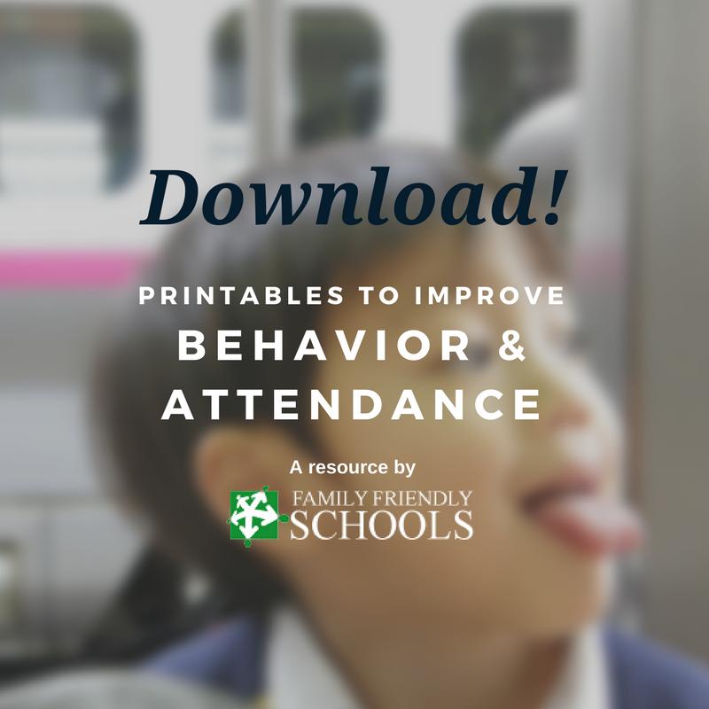 improve behavior & attendance at school