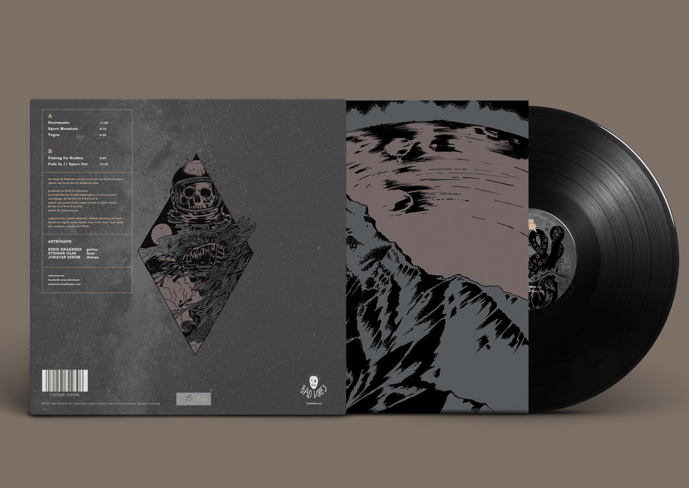 Fade In // Space Out Vinyl Back