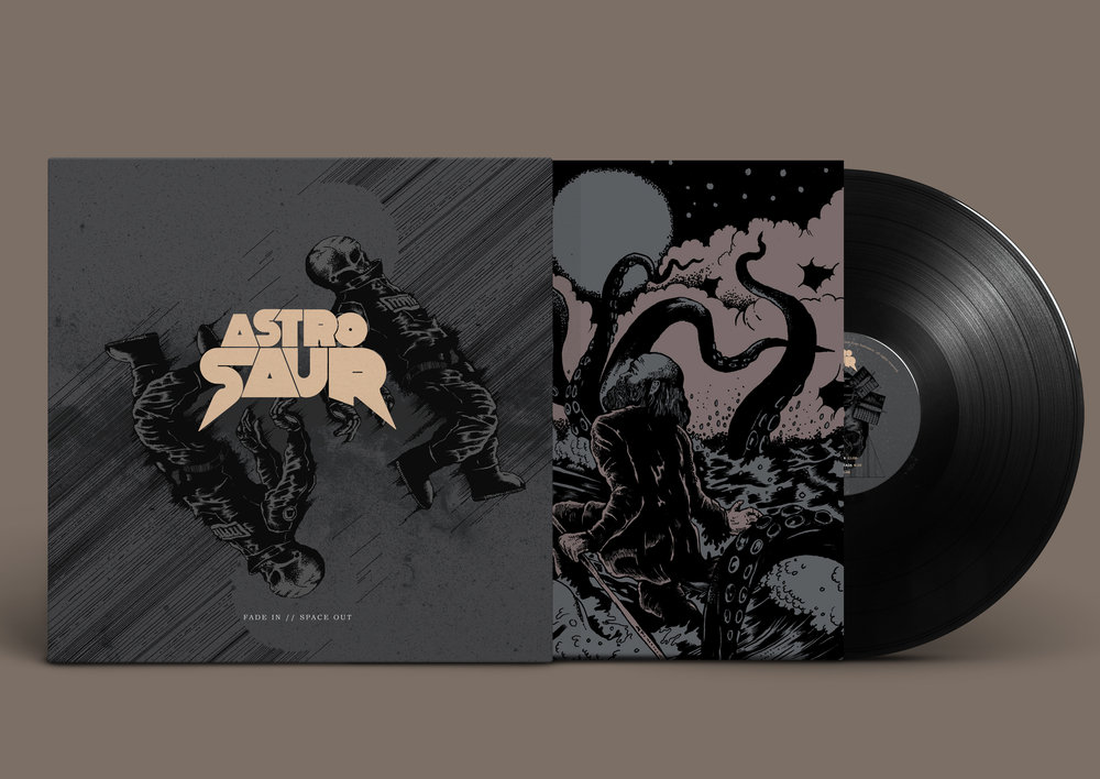 Fade In // Space Out Vinyl Front