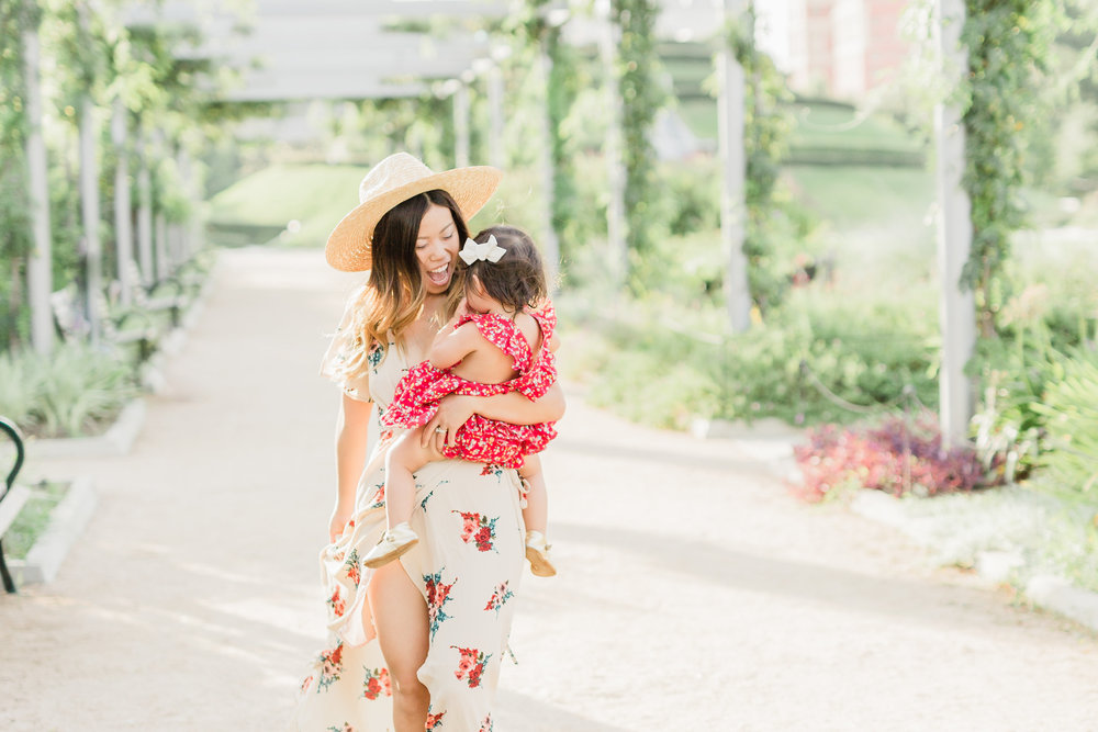 filly flair mommy and me naturally-nude-taupe-floral-wrap-maxi-dress