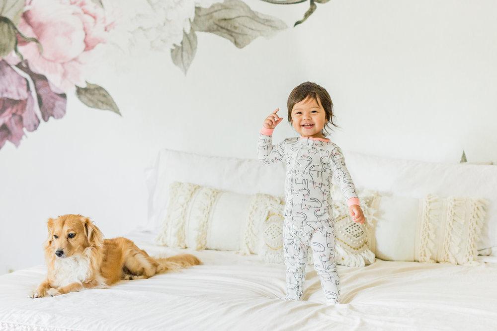 carter's pajamas cat print footed pjs baby and dog mixed asian baby