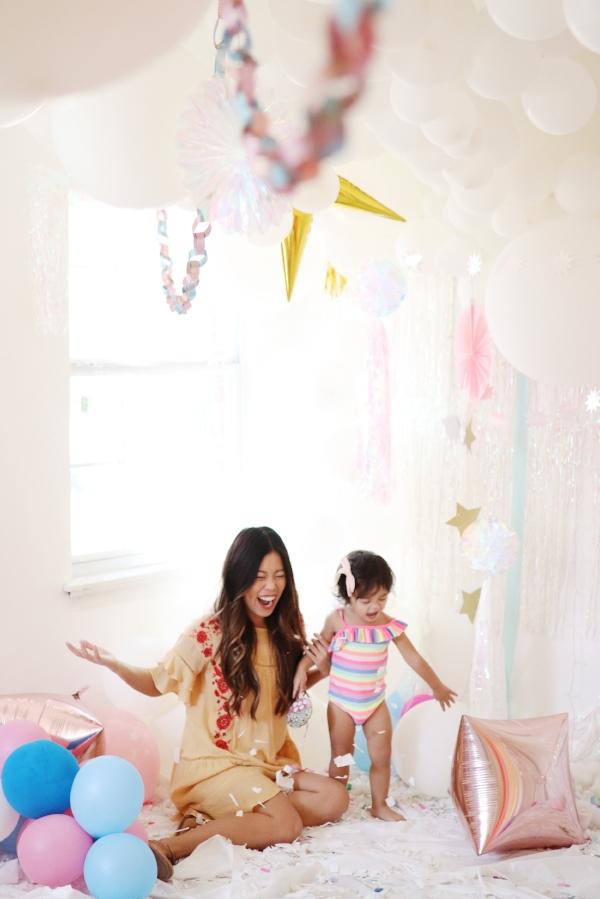 Carter's rainbow unicorn dress confetti montrose studios joyfullygreen