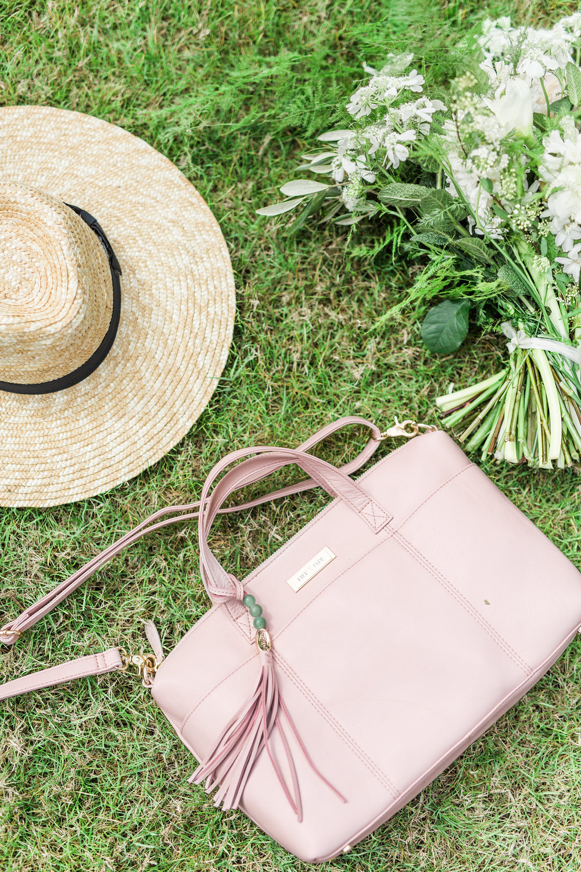 Lily Jade Danielle Blush Diaper Bag Review