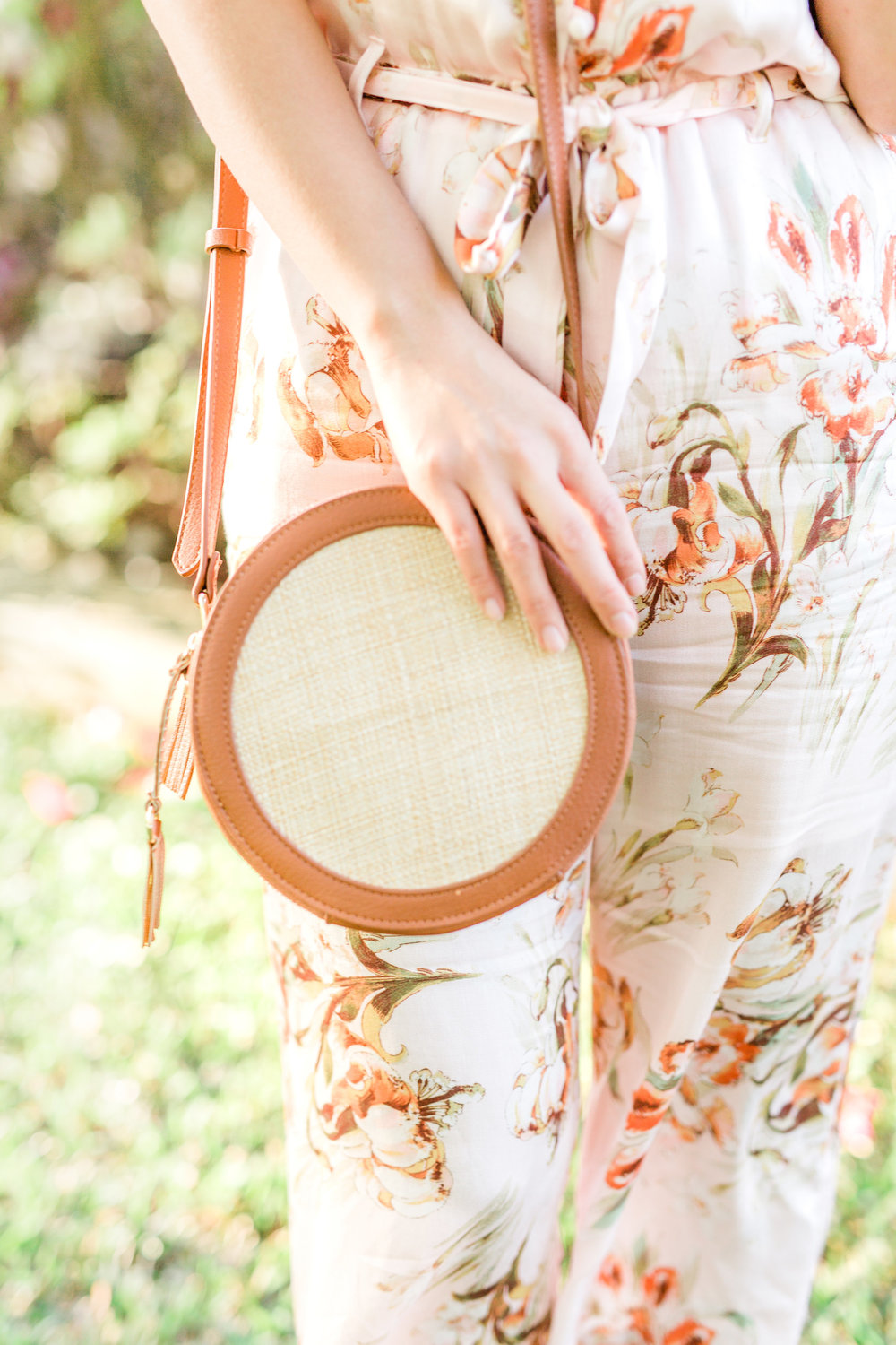 oyfullygreen First Tim Stitch Fix Spring Summer Review with Coupon Code Round Straw Crossbody Bag.jpg