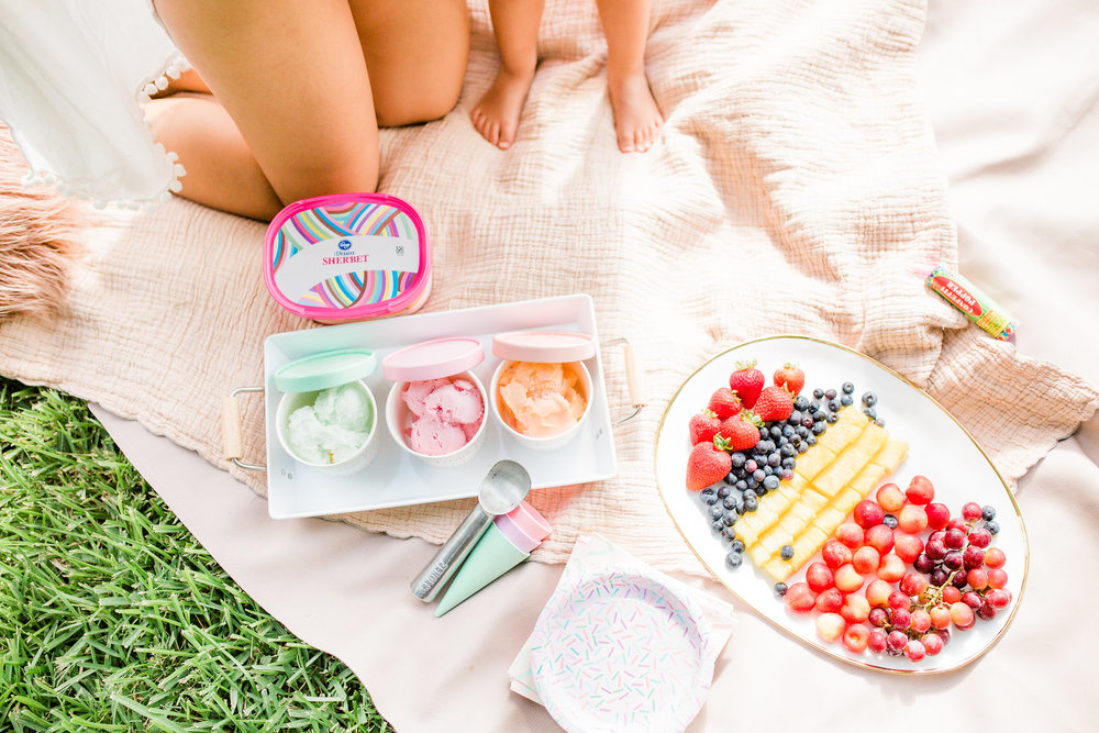 Easy Summer Ice Cream Pool Party You Can Pull off in 30 Minutes Pastel Sherbet