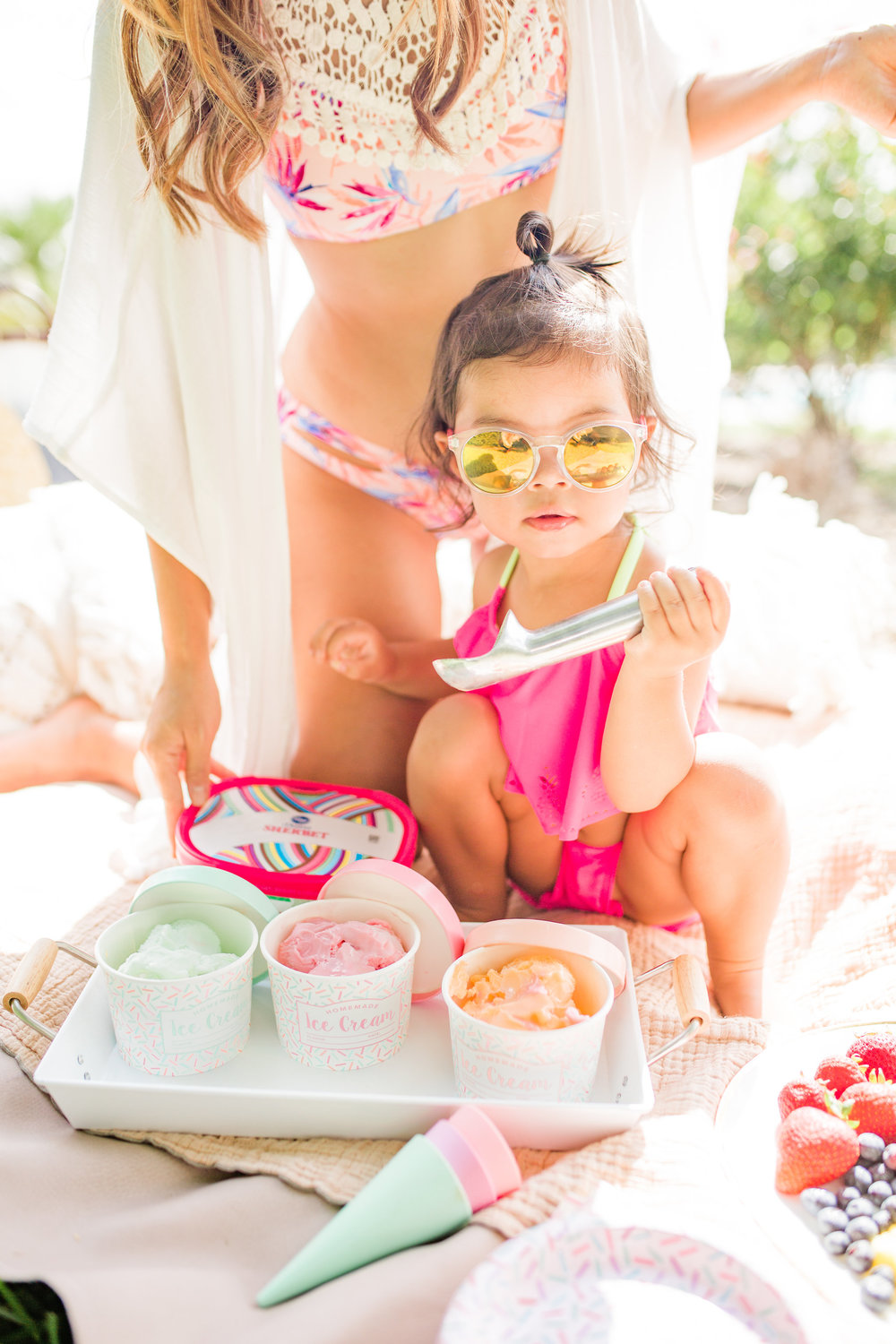 Easy Summer Ice Cream Pool Party You Can Pull off in 30 Minutes Icecream Birthday