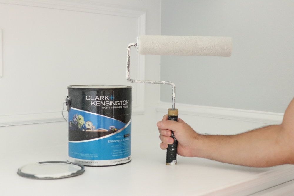 Dark to Bright Office Make Over DIY plus Finding the Perfect Shade of White Paint