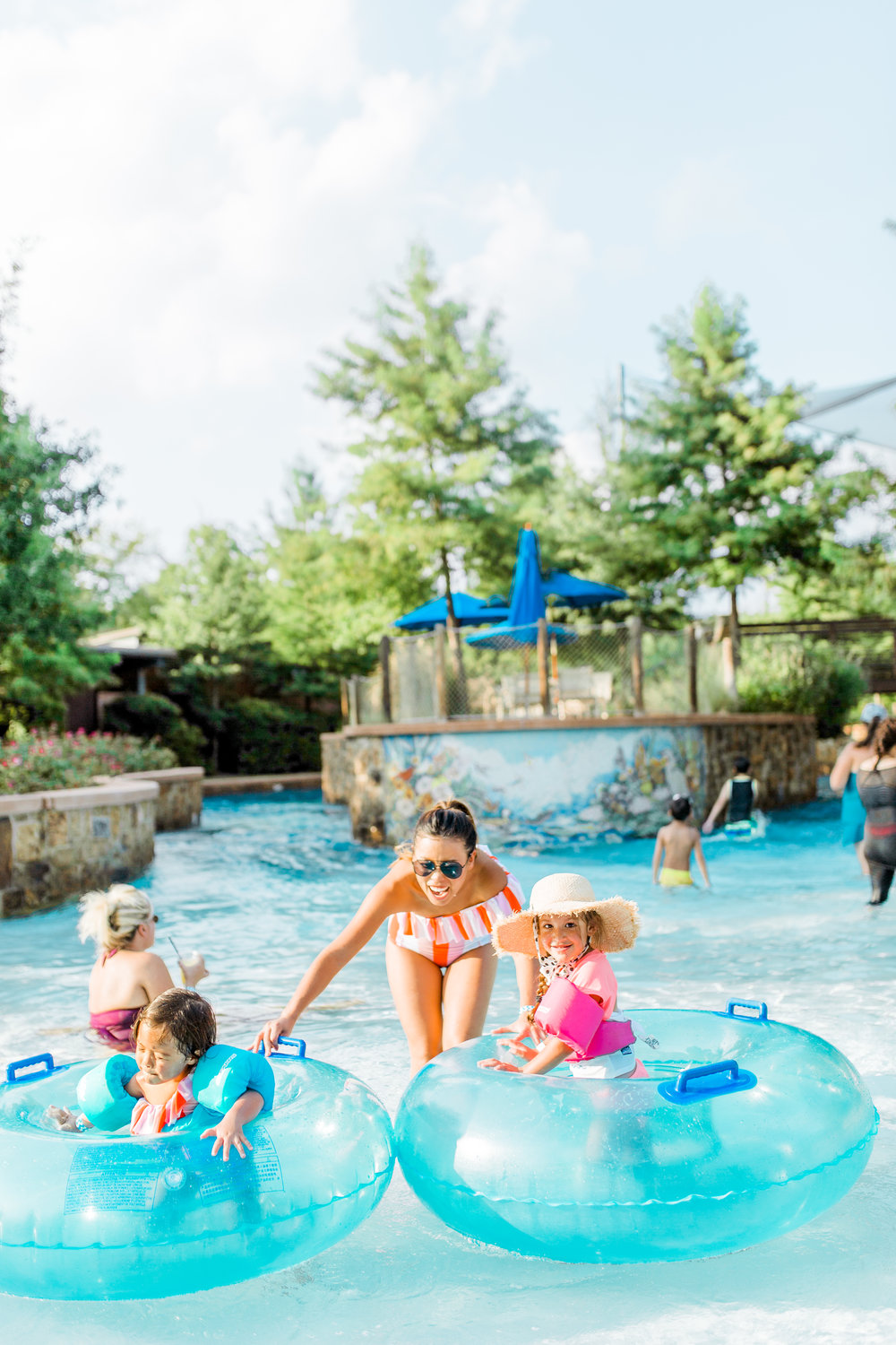 Woodlands Resort Houston Family Travel Blogger Staycation Best Family Staycation Water Park Vacation