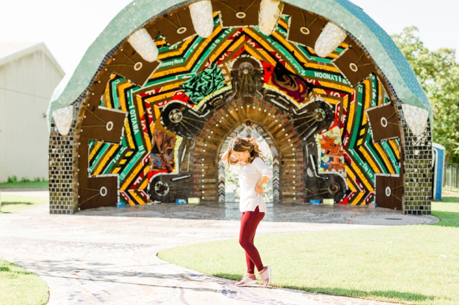 3 Murals and Interactive Art Installations to Visit this weekend in Houston Family Travel Blogger Smithers Park Joyfullygreen