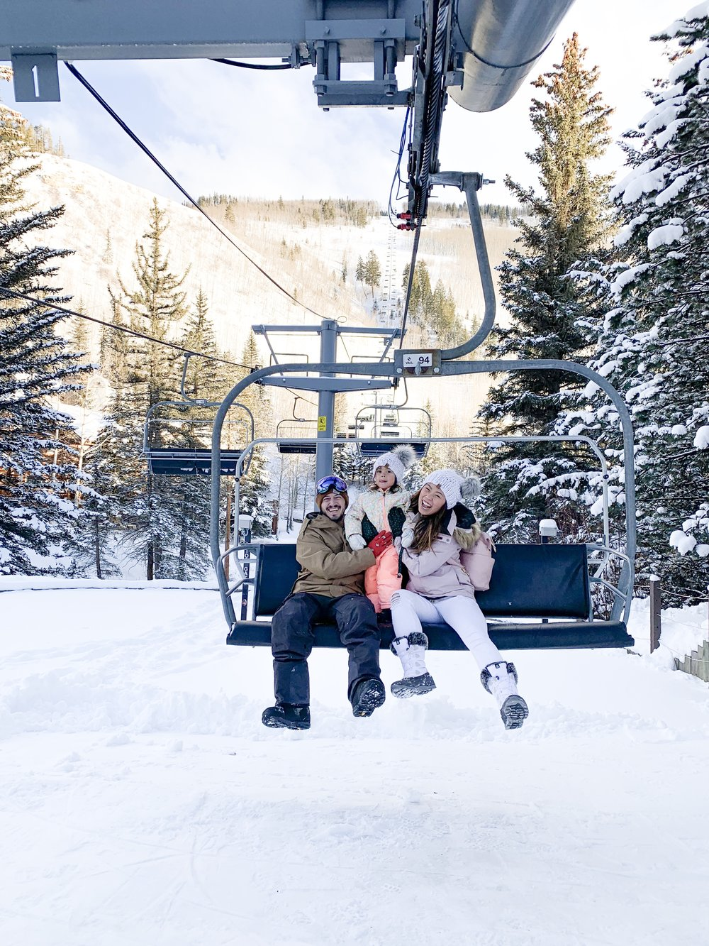4 Days in Vail Colorado with a Toddler - How to Prepare for Baby's First Ski Trip and 5 Winter Family Activities Hotel Talisa Review Joyfullygreen Family Travel Blogger