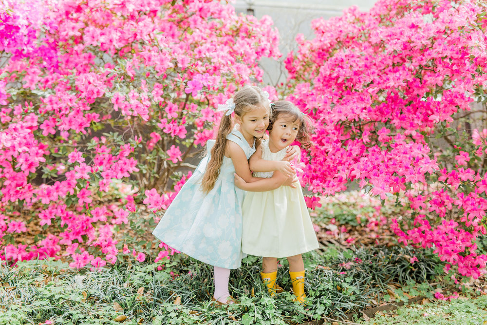 Affordable Easter Dresses and Twinning Sister Looks for baby, toddler and tween girls