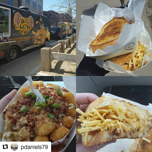 #Repost @pdaniels79 with @repostapp ・・・ Good reason to go to #bushnellpark today. Delicious as always @wheystation 😍#grilledcheese #ctfoodtrucks #cteats #foodporn