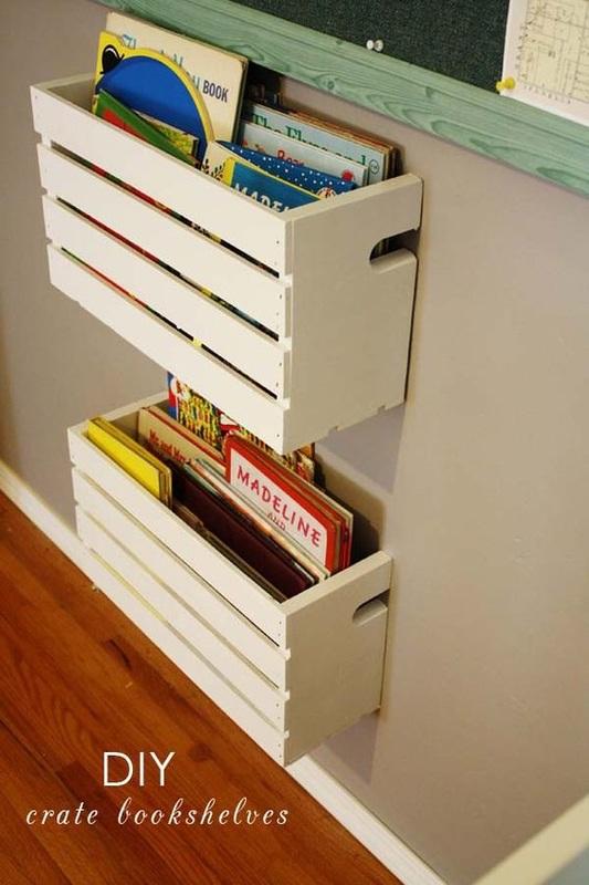 3. Bookshelves