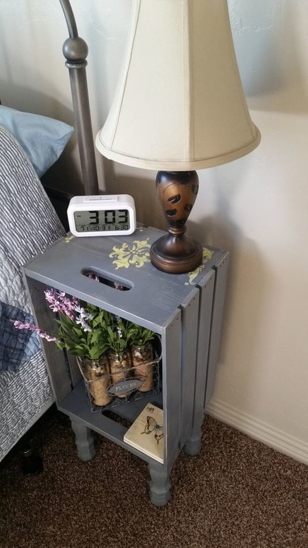 4. crate country nightstand