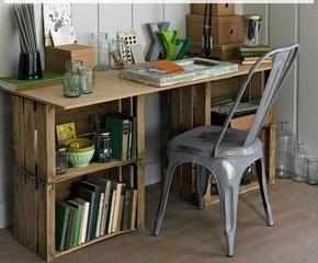 6. Vintage Desk