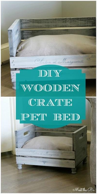 9. A beautiful pet bed