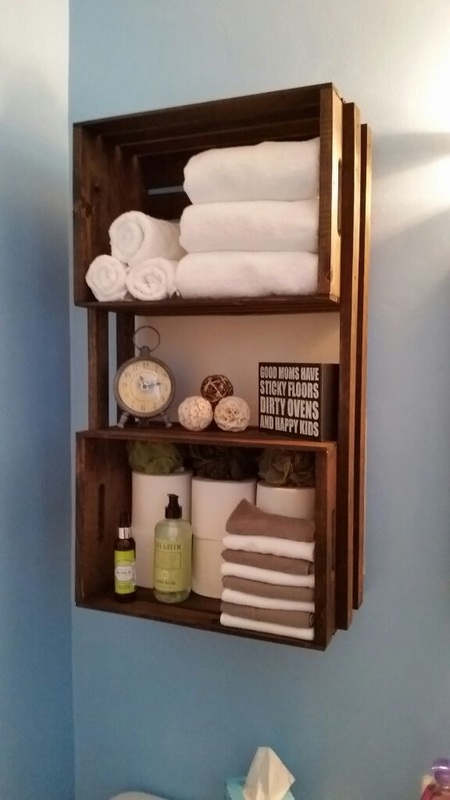 11. Bathroom storage