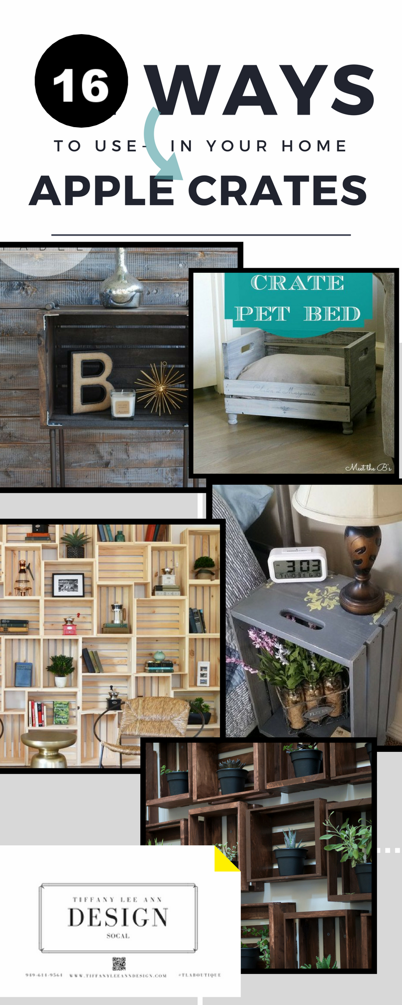 21 ways to use apple crates