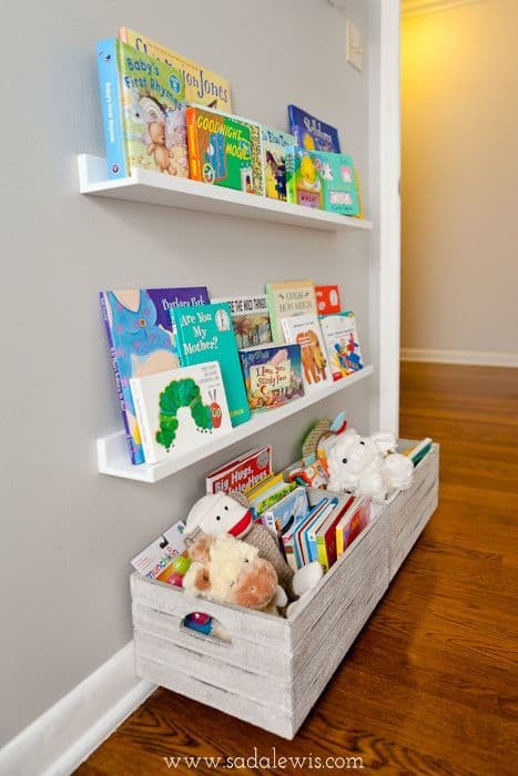 kid bookshelves